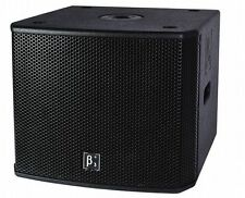 """SCP Beta3 MU18Ba High Power 500w Powered Front Loaded Single 18"""" Subwoofer"""