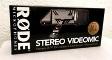 Rode Stereo-VideoMic Kompaktes Richtmikrofon für Camcorder Camera