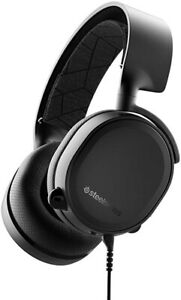 SteelSeries Arctis 3 Gaming Headset For PC, Switch,PS 4, XBox  All Platform - UK