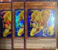 Yu-Gi-Oh Karten Playset 3x DUOV-DE064 Wattgiraffe Ultra Rare Deutsch Neu