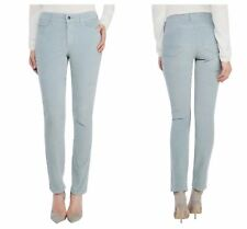 NEW NYDJ Not Your Daughters Jeans Stretch Corduroy BLUE FROST Legging 10 P