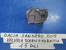 DACIA SANDERO STEPWAY  1.5 DCI 2015> VALVOLA SCARICO MARMITTA