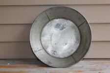 19th century antique shaker tin pan