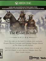 The Elder Scrolls Online - Dragon Warrior Costume DLC +Mount - XBox One