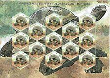 INDIA 2008 TYPE 3 (Rs. 15 x 13) ALDABRA GIANT TORTOISE STAMP SHEETLET