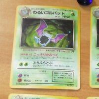 POKEMON POCKET MONSTERS JAPANESE CARD HOLO CARTE Golbat LV.25 No.042 JAPAN MINT