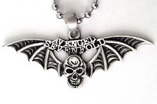 AVENGED Sevenfold HEAVY METAL ROCK PENDANT MENS BOYS NECKLACE CHAIN    BPC 062