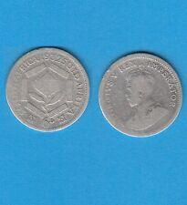 § Afrique du Sud South Africa Georges V    6 Pence argent 1932