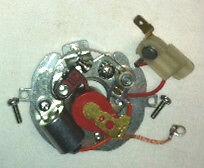 Lucas distributor DM2P4 22D6 25D6 25D4 DM2P4 421078 422318 point plate assembly
