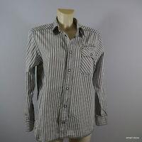 Tom Tailor Damen Bluse weiß gestreift Gr. L/XL WIE NEU