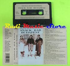 MC SNACK BAR BUDAPEST SOUNDTRACK ZUCCHERO SUGAR FORNACIARI 1988  cd lp dvd vhs *
