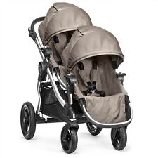 Baby Jogger City Select Double Stroller - Quartz (Silver Frame) New Open Box!