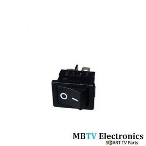 ON / OFF SWITCH BLAUPUNKT 32/146I LCD TV - ROCKER SWITCH LED TV REPAIR - NEW