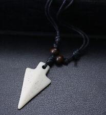 Halskette Kette Herren Damen SURFER Hippie Schmuck Holz Horn Knochen Tibet Yak
