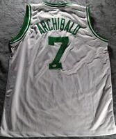 """Nate """"Tiny"""" Archibald Signed Boston Celtics Autographed Jersey JSA"""