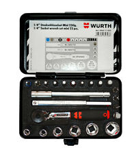 "WURTH ZEBRA Gen 1/4"" CHIAVE A BUSSOLA Assortimento, MINI 23 PC Workshop Tool Set auto"