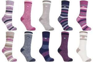 Heat Holders - Ladies Thick Winter Warm 2.3 TOG Hiking Twist Style Thermal Socks