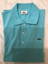 Lacoste men s polo shirt pique stretch brand new no tag Size 5 lav chine ed2213f75a