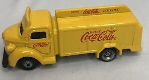 Coca Cola 1947 Bottle Yellow Truck