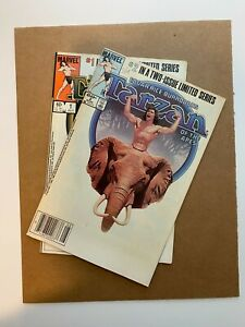 Tarzan of the Apes #1 & 2 Copper Age Mini-Series! I combine Shipping!