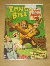 CONGO BILL #1 G (2.0) DC COMICS SEPTEMBER 1954 **