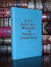 Alice's Adventures in Wonderland Carroll Unabridged Deluxe Soft Leather Feel