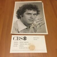 Actor Gregory Harrison in Trapper John, M.D. CBS Network Vintage Signed Photo