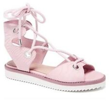 NEW - Mimco Pink atmosphere Lace Up Sandals RRP$189.95