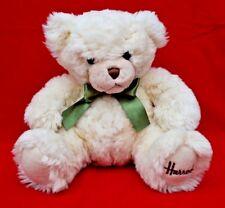 Harrods Teddy Bear: belle, Clean condition! Vert Bow-non daté