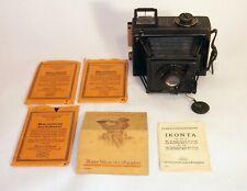 Ica Minimum Palmos 6.5x9cm, CZJ Tessar 12cm f4.5 lens, AS-IS NO RETURNS
