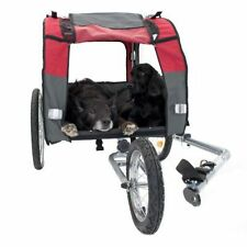 Dog Bike Trailer Jogging Kit Safe Pet Travel Older Dogs Puppies Carrier Stroller