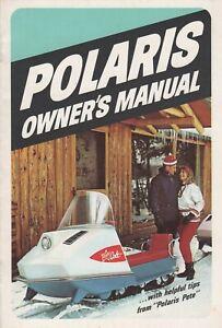 RARE 1968 POLARIS COLT SNOWMOBILE OWNER'S MANUAL  (393)
