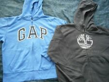 Boys Hoodie Lot size 8-10 Gap and Timberland, Perfect for Back to School Euc