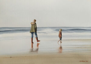 MICHAEL COTTRILL - Limited Signed Print - 'The Red Wellingtons'