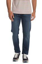HUDSON Mens 36 x 34 Jeans Byron 5 Pocket Slim Straight Jeans Zip Fly