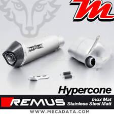 Silencieux échappement REMUS Hypercone Inox mat Triumph Street Triple 765RS 2017