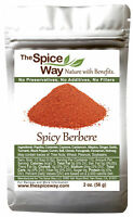 The Spice Way Spicy Berbere - A Hot Ethiopian Berbere Blend 2 oz