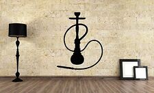 Wall Vinyl Sticker Decal Focus Room Decor Interior Hookah Bar Bong Kalian VY477