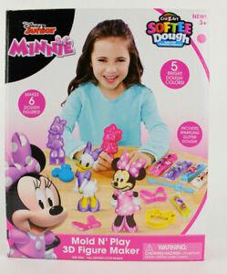 Cra-Z-Art Mold N' Play Disney Junior Minnie Softee Dough 3D Figure Maker NEW