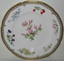 Royal Worcester Sandringham Gold Floral Border Center Salad Plate(s)