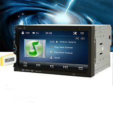 "6.95"" 2 Din In-dash Bluetooth Touch Screen Car Stereo DVD CD MP3 FM Radio Player"