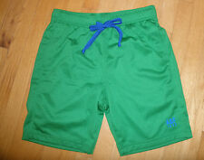 * Mens or Teen Boys Small S Abercrombie & Fitch Dark Green Athletic Mesh Shorts