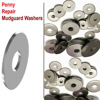 PENNY REPAIR MUDGUARD WASHERS A2 STEEL FOR BOLTS AND SCREWS M4 M5 M6 M8 M10 M12
