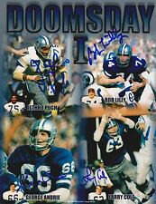 Doomsday I Defensive Line  Autographed Dallas Cowboy 8X10 Photo