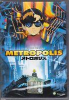 Dvd **METROPOLIS** di Osamu Tezuka nuovo 2001