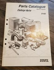 Genuine Volvo Penta Parts Catalogue for D102, TAMD102D, 7746400 Marine Engine
