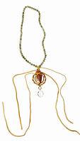 Jasper Arrowhead with Labradorite Stone Necklace