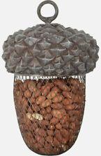 Large Hanging Acorn Wild Bird Outdoor Feeder for Nuts etc