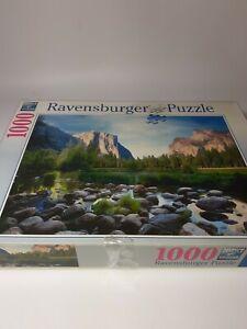 Ravensburger 1000 Piece Jigsaw Puzzle Yosemite Valley 2010 Scenic Landscape