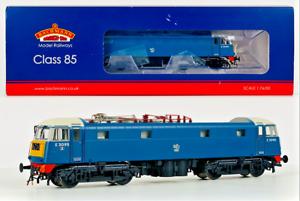 BACHMANN 00 GAUGE - 31-679 - CLASS 85 ELECTRIC TYPE AL5 BR BLUE SMALL YELLOW PAN